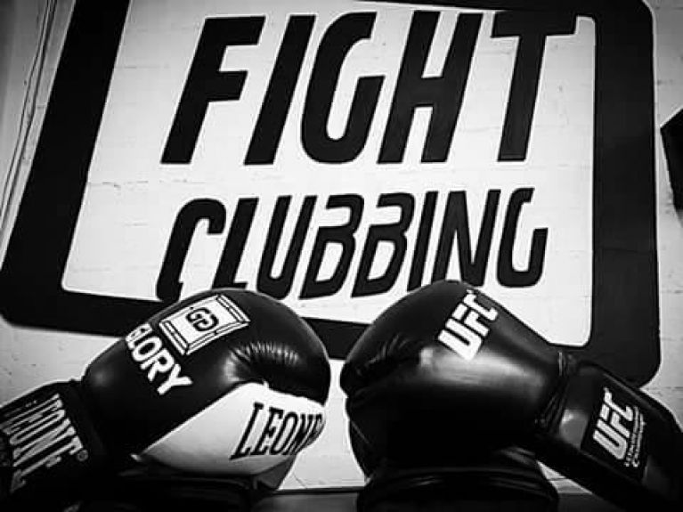Welcome to...Fight Clubbing GYM!