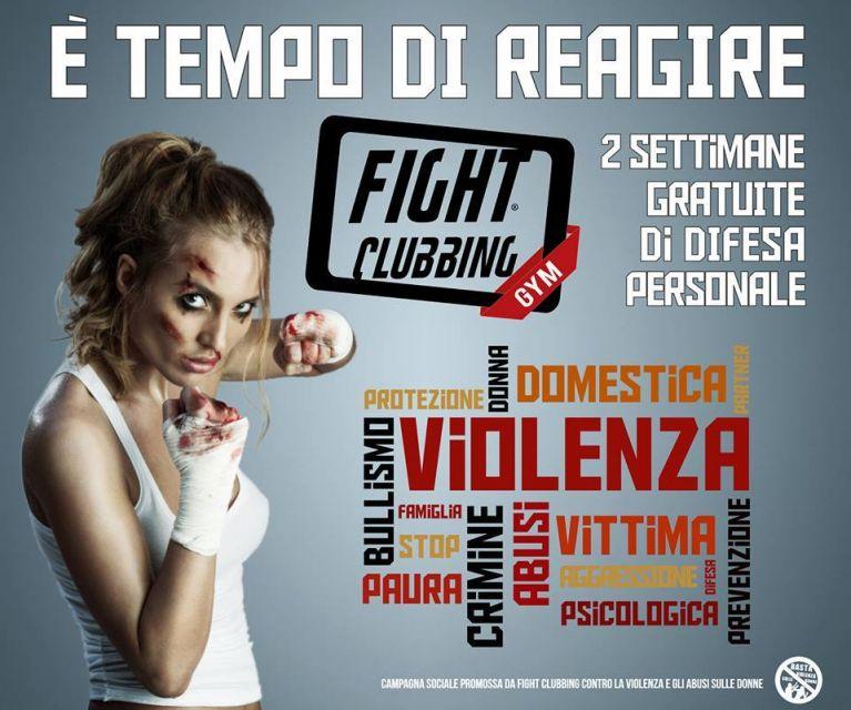 Fight Clubbing GYM regala 2 settimane di allenamenti a tutte le donne