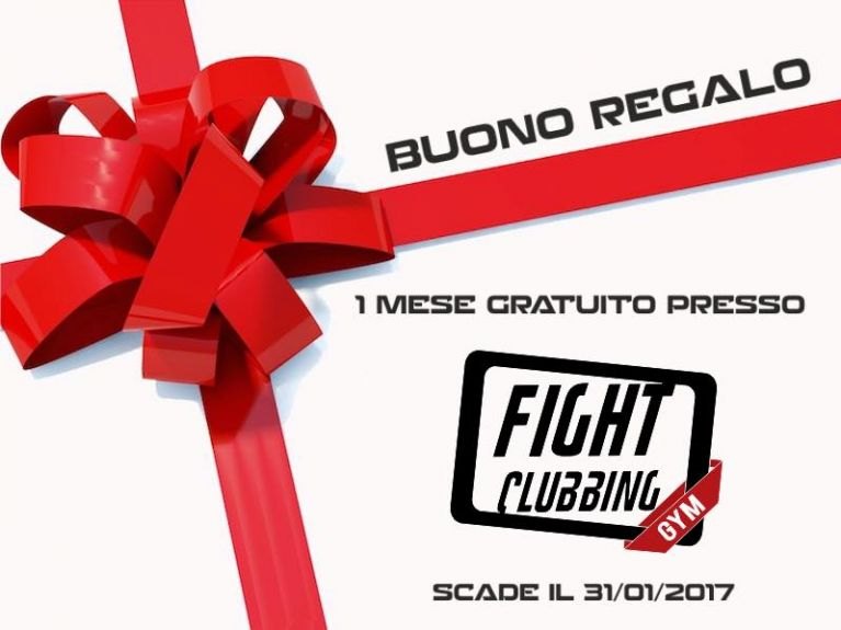Fight Clubbing GYM ti regala 1 mese gratuito per Natale!