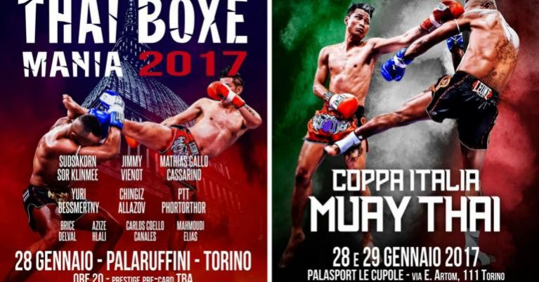 Thai Boxe Mania e Coppa Italia Muay Thai