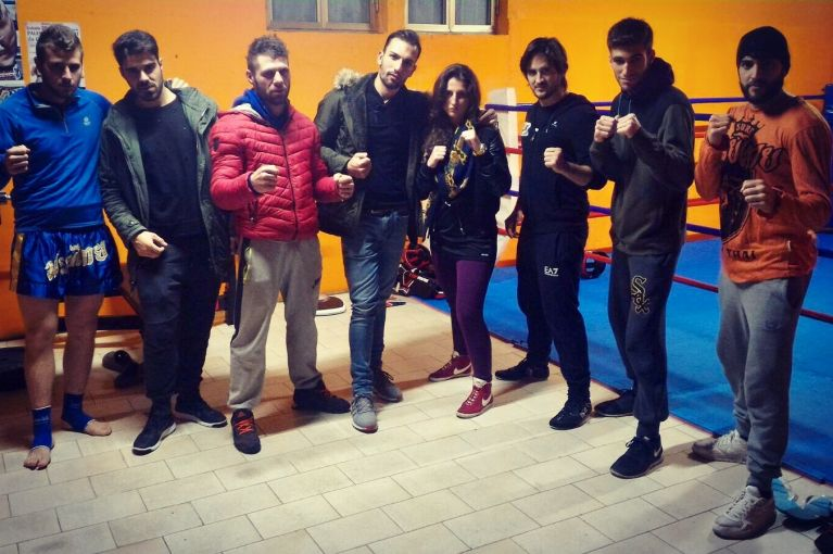Sparring Day: Fight Clubbing & Calzetta Brothers