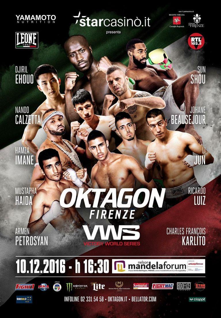 7 giorni a Oktagon Bellator!