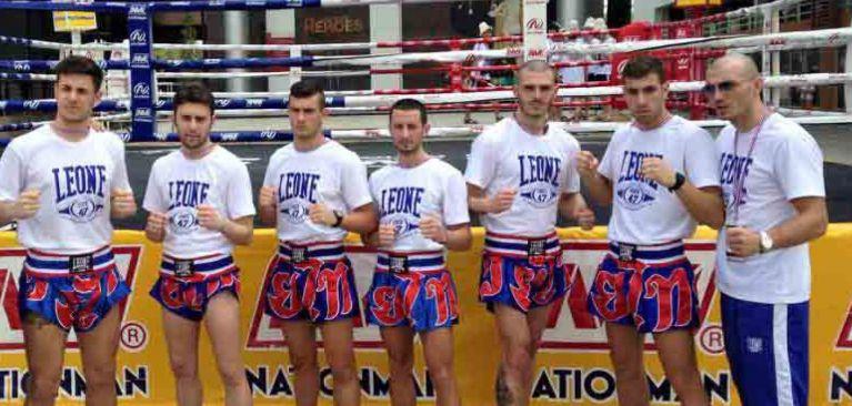 La Nazionale Italiana ospite di Fight Clubbing GYM